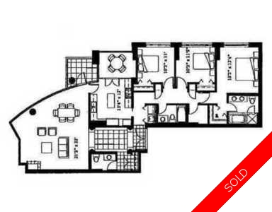 Coal Harbour Condo for sale:  2 bedroom 1,745 sq.ft. (Listed 2008-01-20)